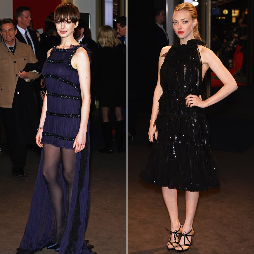 Anne Hathaway Les Miserables Interview Video: Anne Hathaway Les Miserables Premiere Looks (Pictures