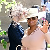 Oprah at the Royal Wedding