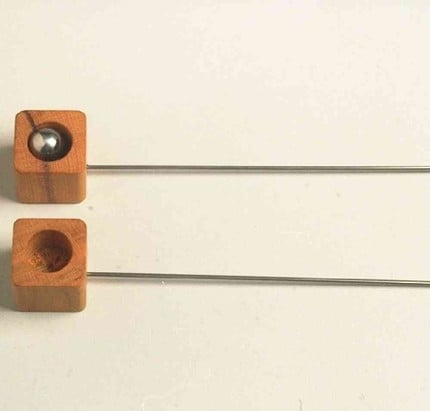 Handcrafted Wooden Dexterity Game Toy ($13)
