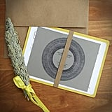 Record-Themed Paper Goods