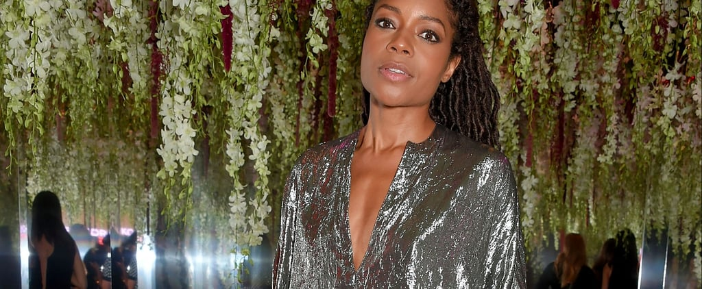 Naomie Harris Just Gave Us Some Early Festive Fashion Inspiration
