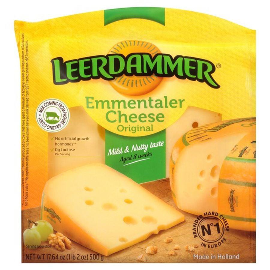 Leerdammer Original Emmentaler Cheese ($8)