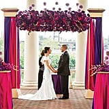 2. Bright Ceremony Decor
