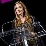 Video: Angelina's Passionate Speech, Kate Talks Baby Names, and an Honor For the Queen