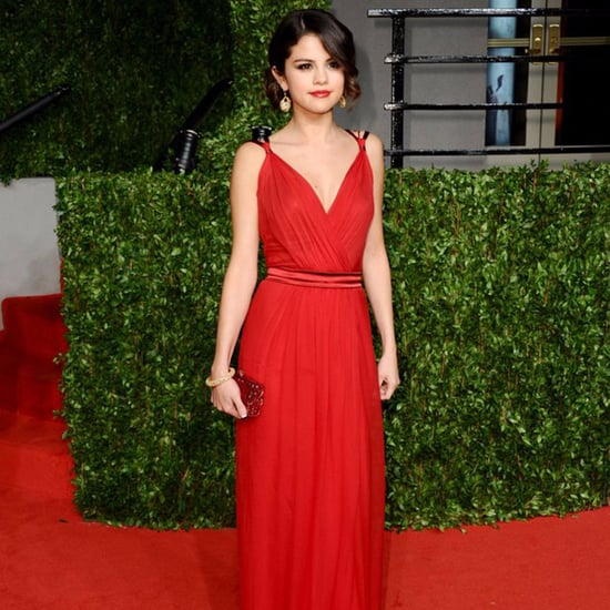 Selena Gomez in Red Dresses