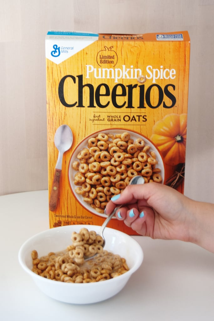 Pumpkin Spice Cheerios ($3)