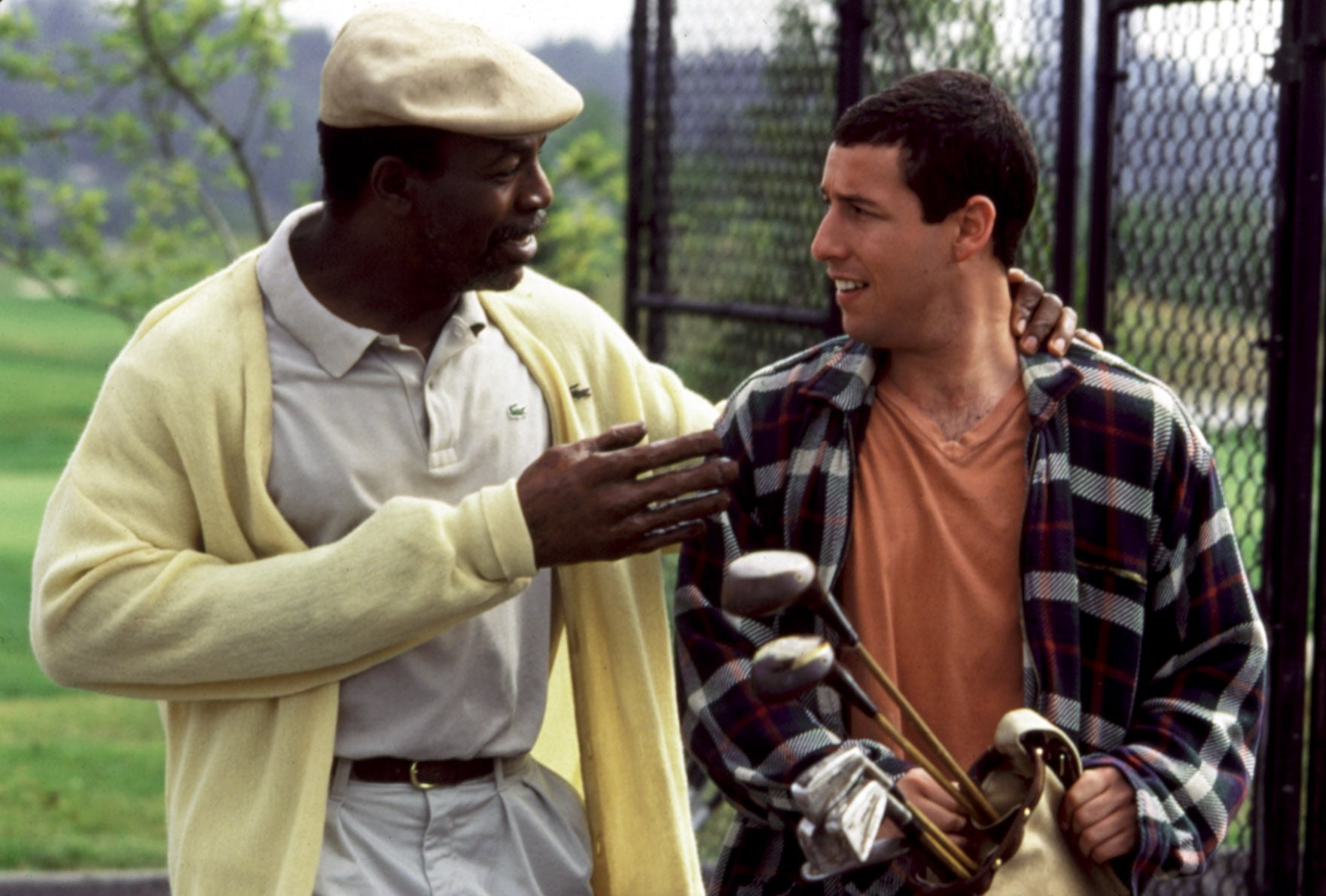 HAPPY GILMORE, Carl Weathers, Adam Sandler, 1996, advice