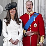 Pictured: Kate Middleton, Prince William.