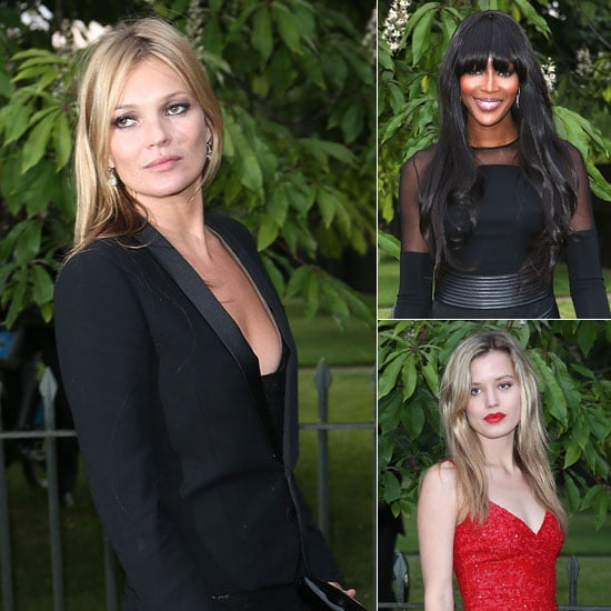 Mossy, Naomi, Georgia May & More Step Out For the Serpentine Gallery Summer Party
