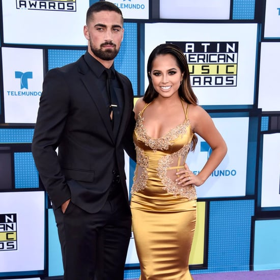Becky G and Sebastian Lletget at Latin American Music Awards