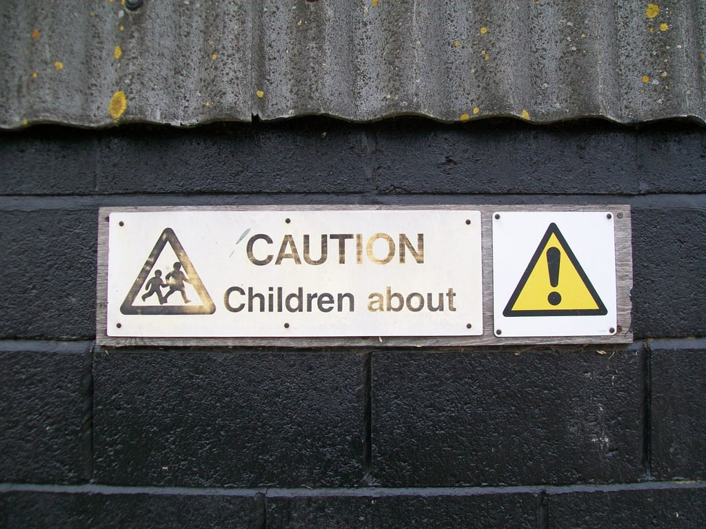 Funny Warning Signs For Parents