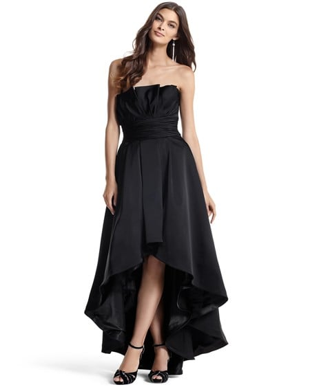 White House Black Market high low gown ($398)