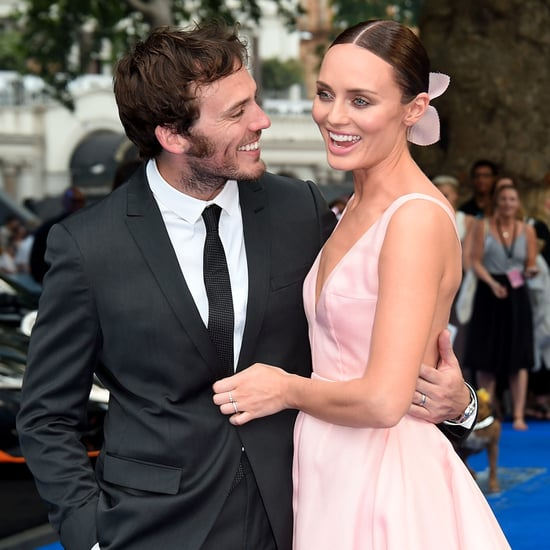 Laura Haddock and Sam Claflin | Transformers Premiere