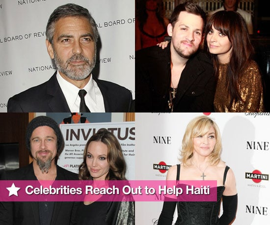 Celebrities Reach Out to Aid Haiti
