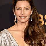 Jessica Biel at the 69th Emmy Awards