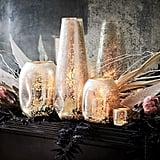 Organic Shaped Mercury Candleholders