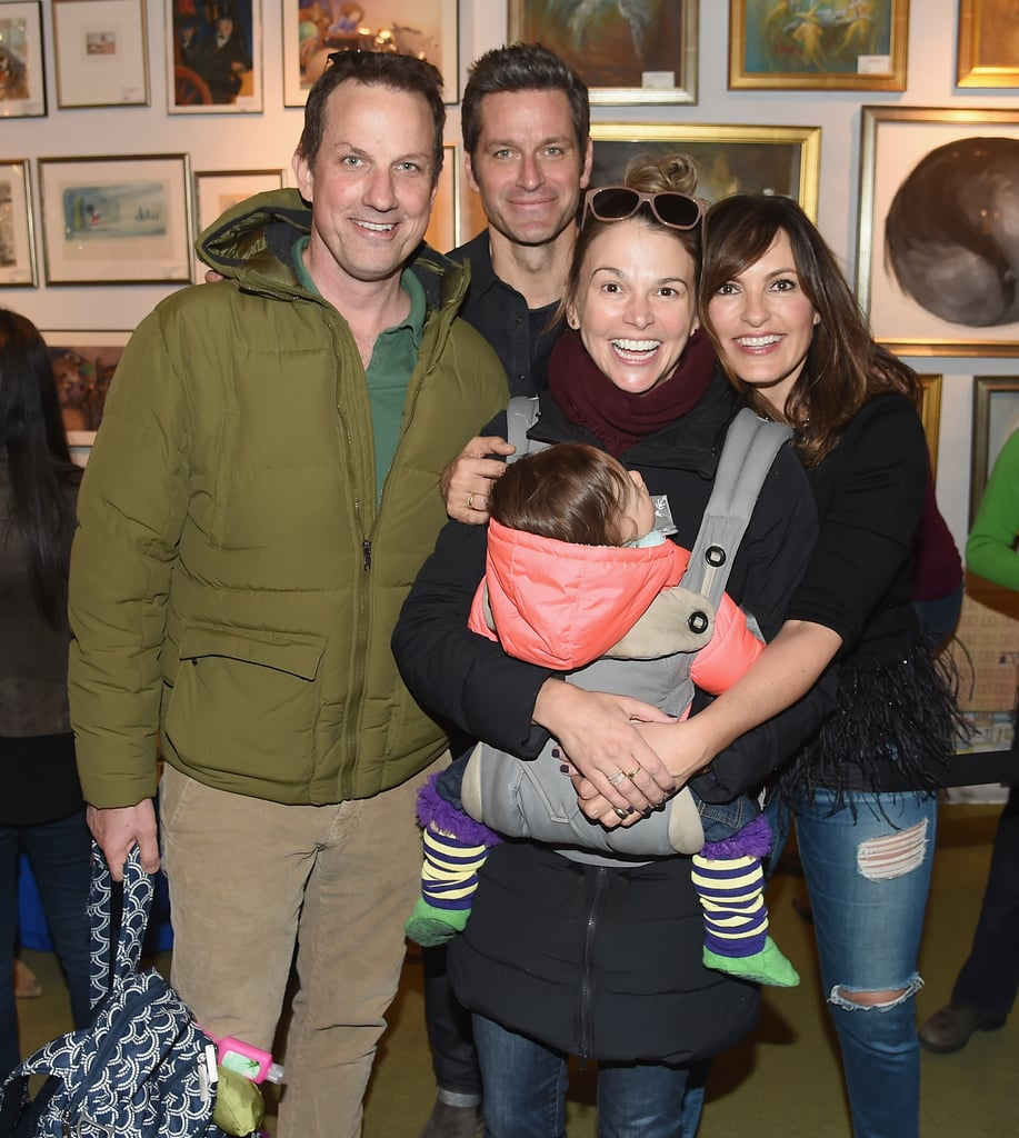 Peter Hermann and Mariska Hargitay at Book Launch March 2018