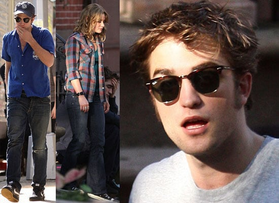 Photos Of Robert Pattinson, Emilie De Ravin, Pierce Brosnan On The Set Of Remember Me, Justin Timberlake Comments On His Appeal