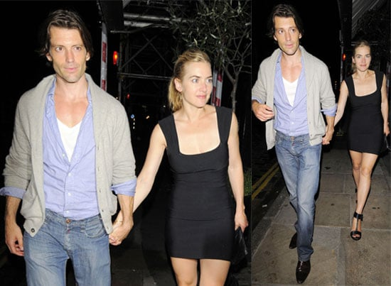 Pictures of Kate Winslet with Boyfriend Louis Dowler In London