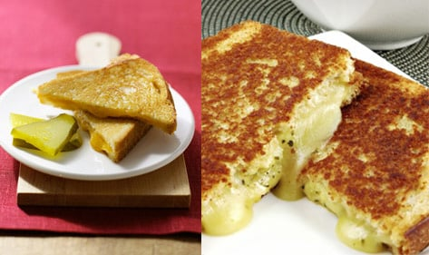How Do You Cut Your Grilled Cheese Sandwiches?
