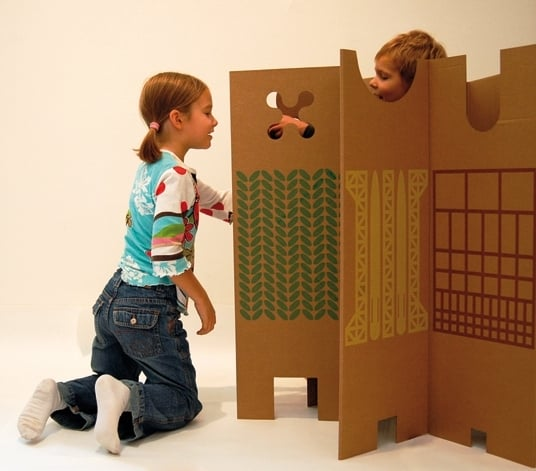 Cardboard Partition
