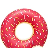 Giant Strawberry Doughnut Pool Float