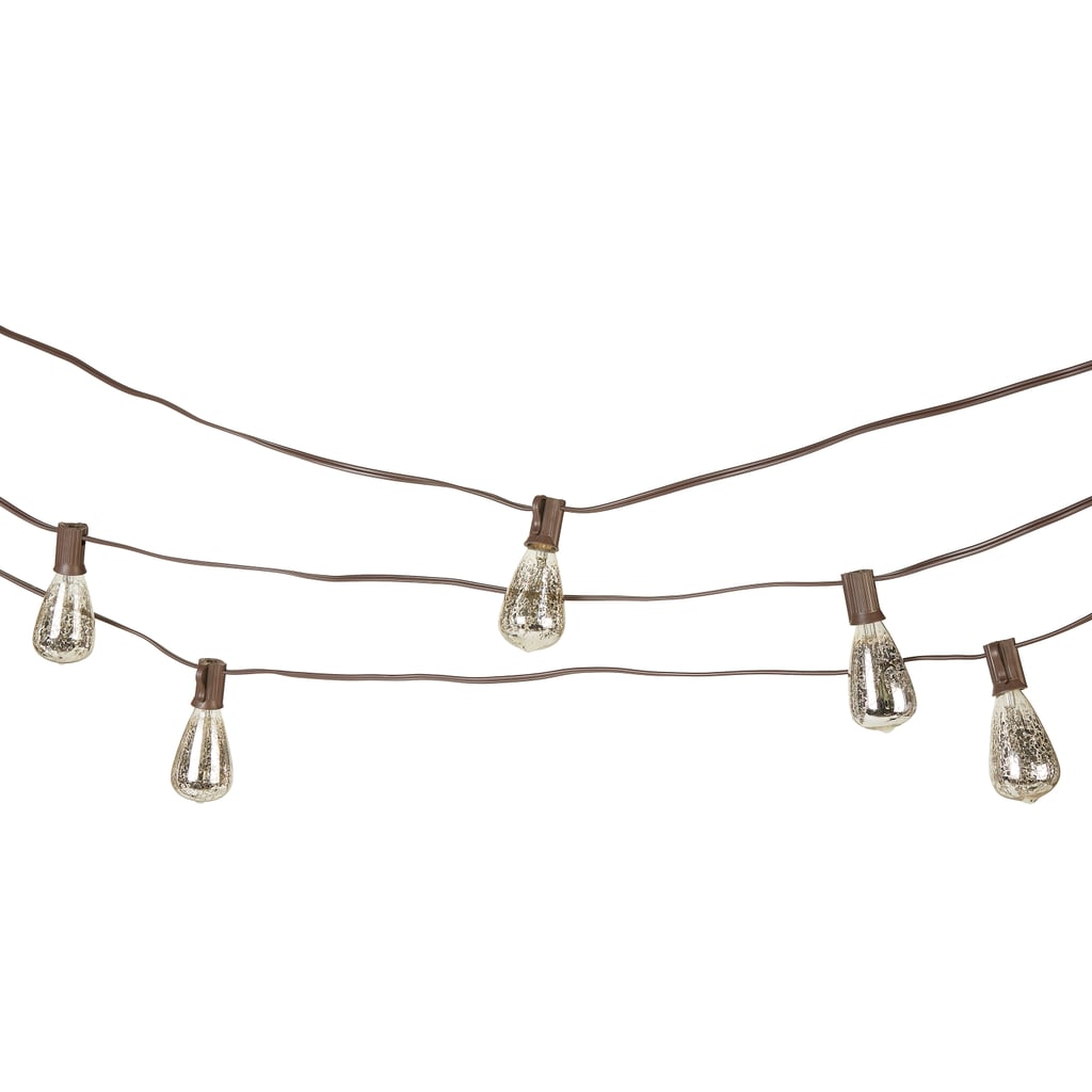 Better Homes & Gardens 10-Count Silver Mercury Glass String Lights
