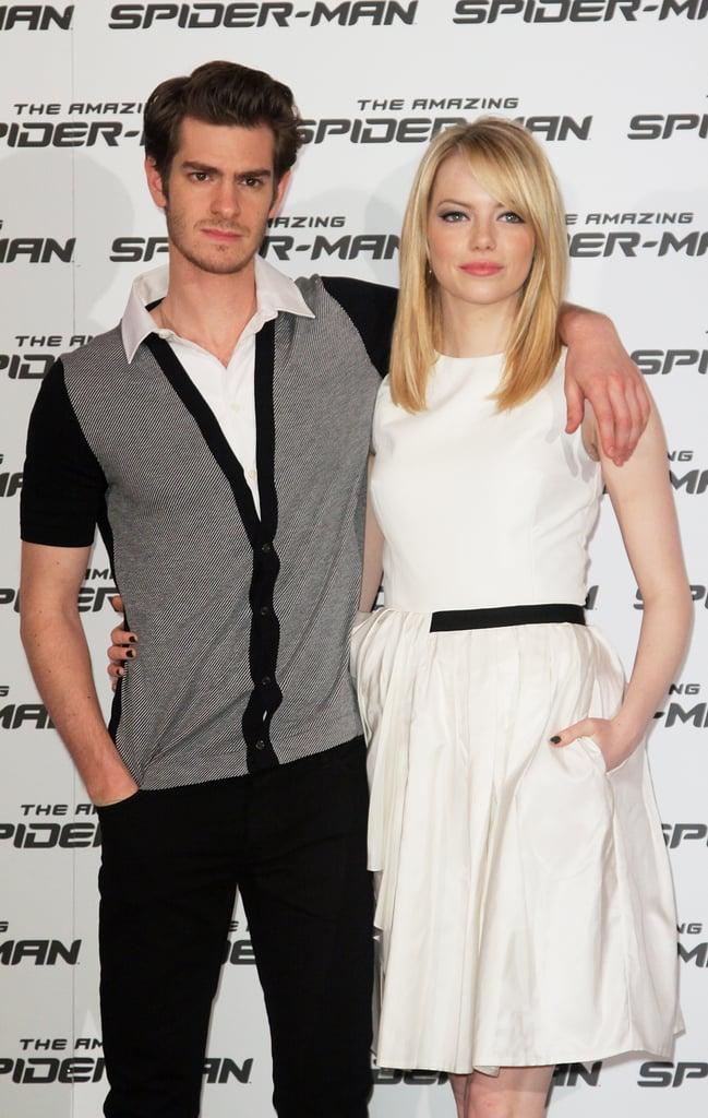 Emma Stone Pictures in Rome With Andrew Garfield