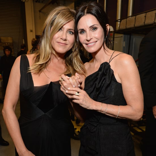 Jennifer Aniston and Courteney Cox at AFI Gala June 2018