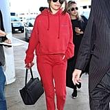 Selena Gomez on Her Way to Paris Fashion Week Fall 2016