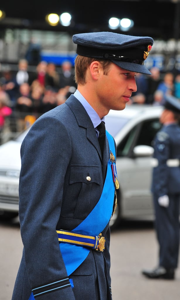 Prince William and Ewan McGregor at Battle of Britain Anniversary