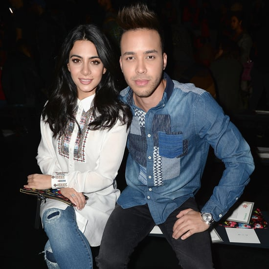 Prince Royce and Emeraude Toubia Photos