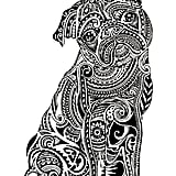 Get the coloring page: Pug