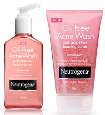 Product Reviews: Reviews of Neutrogena Oil Free Acne Wash Pink Grapefruit
