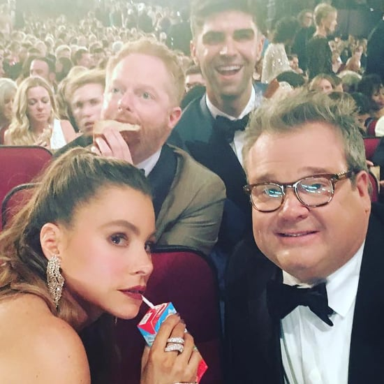 Sofia Vergara at the Emmys 2016 Instagram Photos
