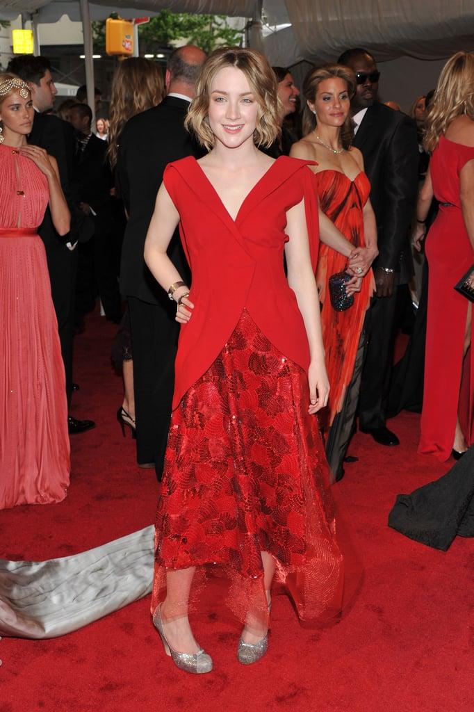 Saoirse Ronan in Rodarte