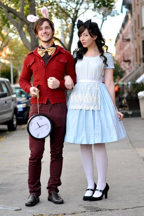 White Rabbit and Alice in Wonderland  sc 1 st  popsugar uk & Halloween Couples Costume Ideas | POPSUGAR Love UK