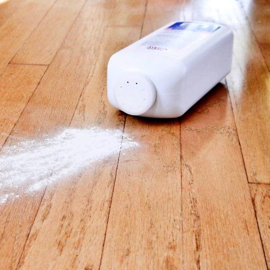 Fix squeaky floors with baby powder popsugar smart living tyukafo