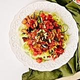 Whole30: Zucchini Pasta Alla Norma