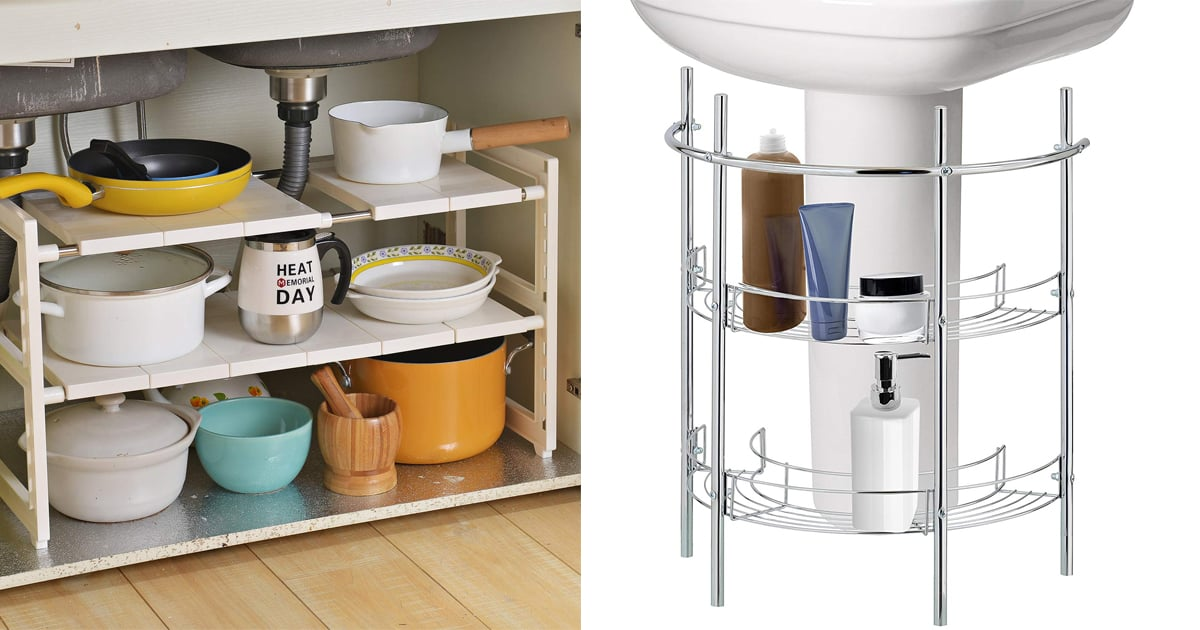 These 14 Under-the-Sink Storage Products Are Total Organizing Game Changers