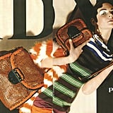 Kinga Razjak for Prada, by Steven Meisel