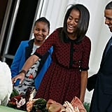 "In 2008, Obama talked to Ladies Home Journal about growing up with an absentee father: ""As somebody who didn't grow up with a father in the home, I like having men come up to me saying, 'You know, I'm really glad you're a good father.' I like that maybe some little boy somewhere who doesn't have a dad in his house sees Michelle and the girls and me out somewhere and is going to carry that image in his head with him somewhere down the road."""