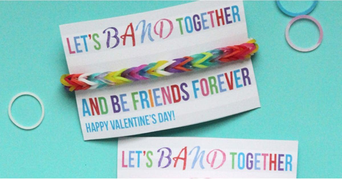 DIY Printable School Valentine\'s Day Cards For Kids | POPSUGAR Moms
