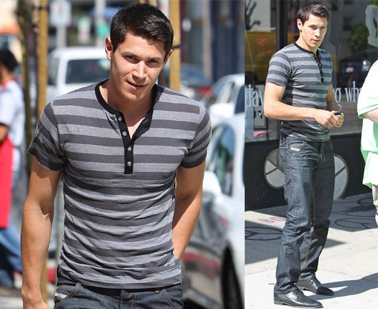 Pictures of Alex Meraz from Twilight Eclipse Looking Sexy in LA Sunshine