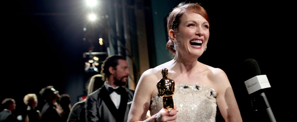 Best Candid Backstage Celebrity Pictures From 2015 Oscars