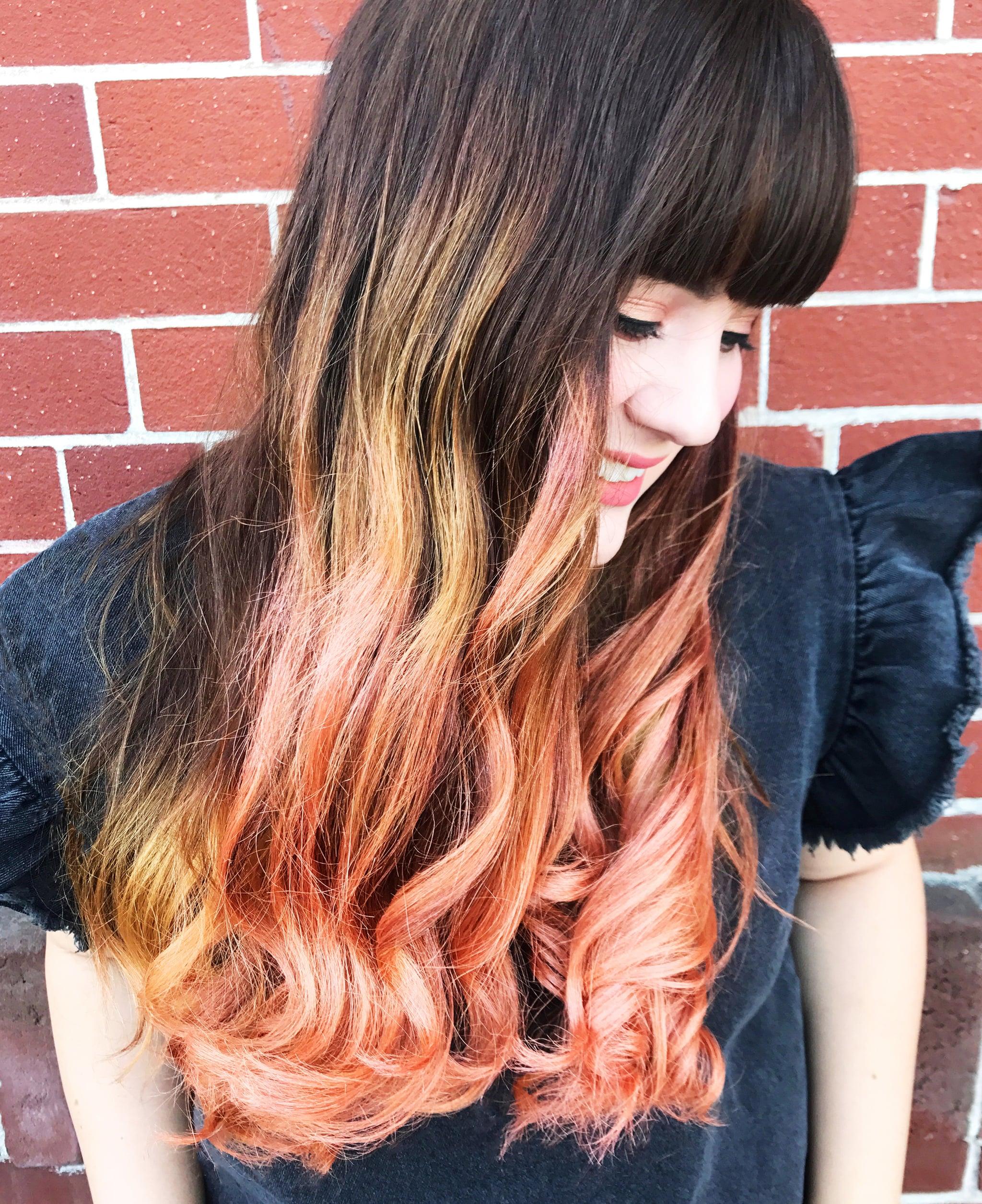 Clairol Rose Gold Hair Makeup Review Popsugar Beauty