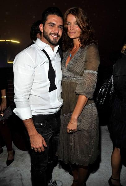 Lorenzo Martone and Helena Christensen