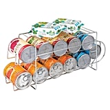 mDesign Metal Wire Standing Can Dispenser