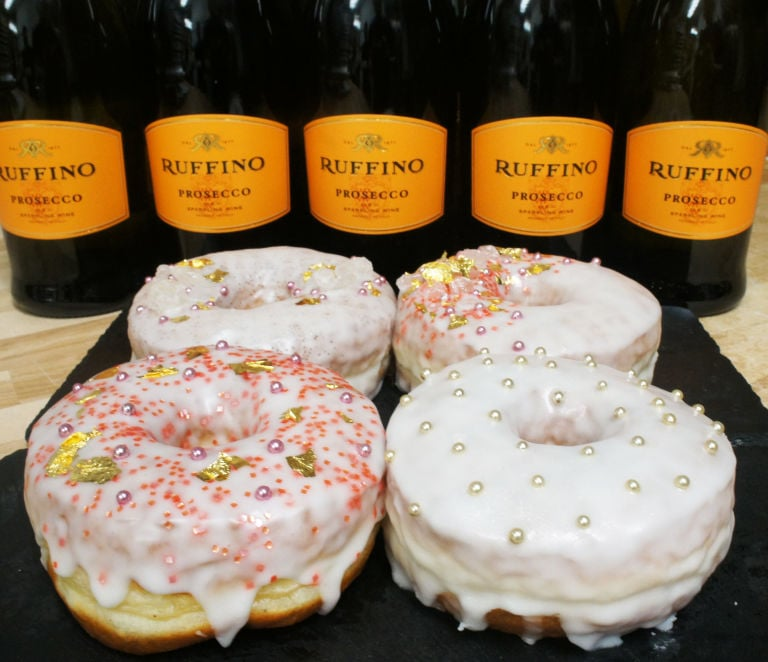 Prosecco-Flavored Doughnuts Are Here to Satisfy Your Wine-Loving Hearts!