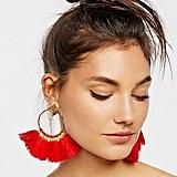 Free People Full Bloom Fan Earrings